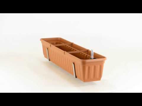 Vario-Fix DUO Blumenkasten Haltebügel 15cm