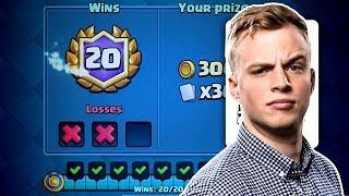 Clash Royale - 20 WIN DECK! New Challenge
