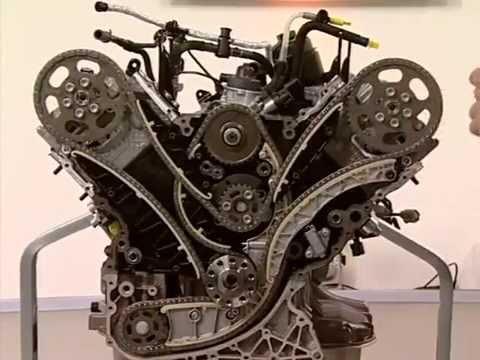 Фото к видео: Второе поколение двигателя 3.0 V6 TDI