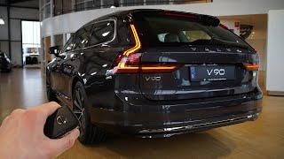 [Visual Car Reviews]  2021 Volvo V90 T6 (340hp) - Sound & Visual Review!