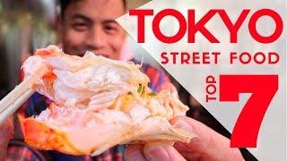 Japanese Street Food Market Tour Top 7 Must Eat At Ameyoko |  Ameya Yokocho Tokyo Food Guide