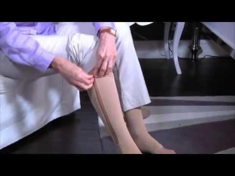 Quello che è il tempo per portare calze di compressione a varicosity