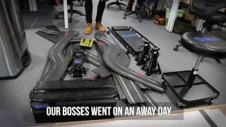 Office track racing: How we did it| SGS Engineering