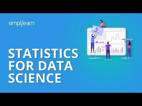 Statistics For Data Science | Data Science Tutorial | Simplilearn ...
