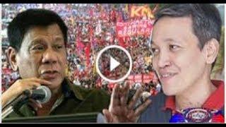 """NATAMEME! -- PRRD meets Renato Reyes in Malacañang: """"Sige, rally muna kayo, tapos usap ulit tayo"""""""
