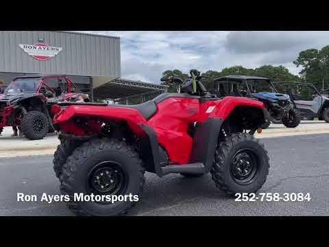 2022 Honda FourTrax Rancher in Greenville, North Carolina - Video 1