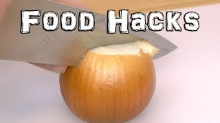 Clever Food Hacks - Peeling and Cutting - Video Youtube