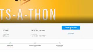 GITS-A-THON Registration, Team Building, Idea Submission Tutorial