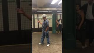 Amazing subway singer, Mike Yung, singing Unchained Melody, now featured on America