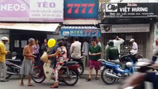 Chợ Bà Chiểu,Tết Đinh Dậu, Lê Quang Định, ,Saigon.Jan.15.2017