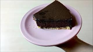 შოკოლადის ჩიზქეიქი გამოცხობის გარეშე