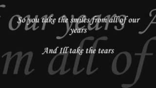 i'll take the tears w/ lyrics