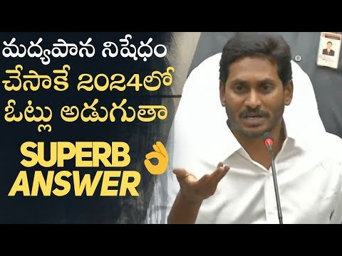 YS Jagan Promises to Ban Alcohol In Andhra Pradesh