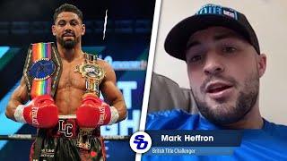 'I'D TAKE LENNOX CLARKE FIGHT TODAY!' Mark Heffron on future & BENTLEY vs CASH