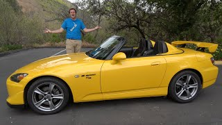 The Honda S2000 CR Is One of the Greatest Sports Cars of the 2000s