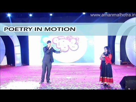 Aman Malhotra (Anchor) | Poetry compilation
