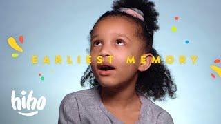 100 Kids Share Their Earliest Memory | HiHo Kids