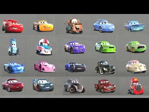Cars 3 - All Characters Unlocked (Gameplay With All Cars)