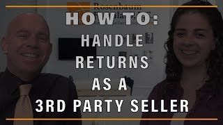 How to Handle Customer Returns as A Third-Party Amazon Seller?