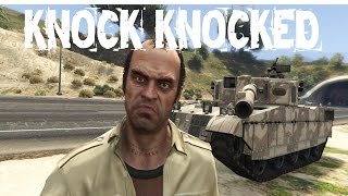 Knock Knocked Trevor Philips - GTA 5 Funny Moments