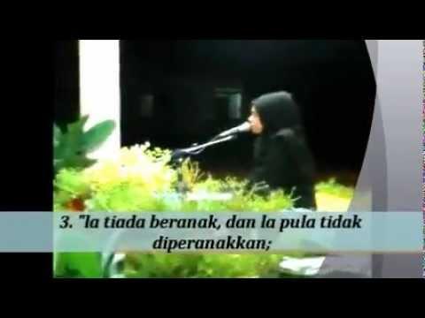 Malaysian Quran recitation - Sharifah Khasif Fadzilah Syed Badiuzzaman (Malaysia)