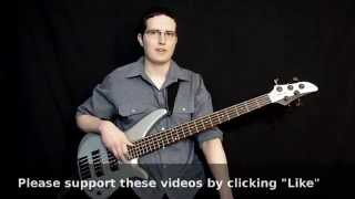 "Walking Jazz Standards #9: ""Have You Met Miss Jones?"" - Bass Guitar Lesson"
