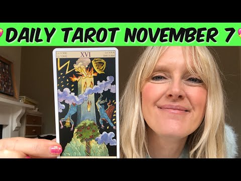 Daily Tarot November 7, 2019 - When Is.A Tower Not A Tower?