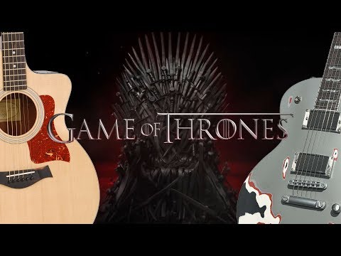 Game of Thrones (full fingerstyle & metal cover)