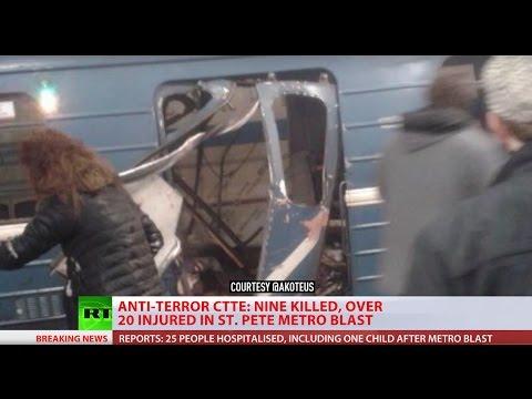 BREAKING: St. Petersburg Metro blast - SPECIAL COVERAGE