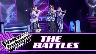 "Moses vs Kathlynn vs Andrew ""I Miss U...""   Battle Rounds   The Voice Kids Indonesia Season 3 GTV"