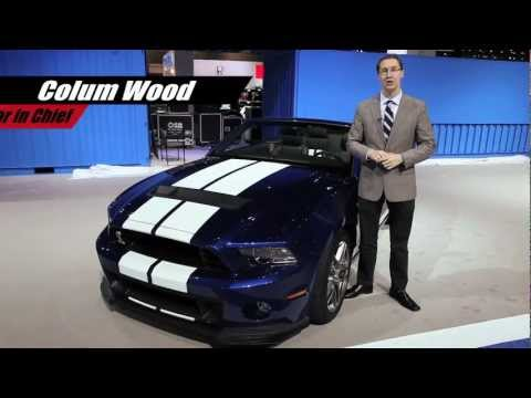 2013 Shelby GT500 Convertible - 2012 Chicago Auto Show