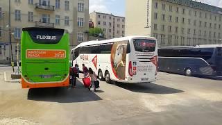 В Европу автобусом / прелести таможни / вид из автобуса КРАКОВ, ВРОЦЛАВ, Wroclaw