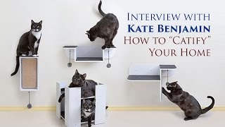 "Interview with Kate Benjamin: How to ""Catify"" Your Home"