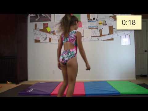 60 seconds of gymnastics, National Gymnastics Day