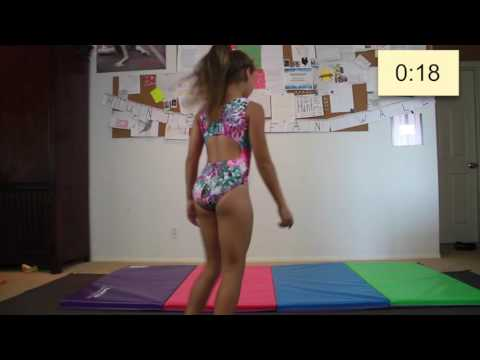 60 seconds of gymnastics, National Gymnastics Day