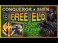 RANK 1 SHEN EUW TEACHES BRUISER SHEN How To Play With Conqueror League of Legends