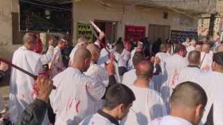 preview picture of video 'موكب تطبير حي الربيع - الكوت - واسط 4'