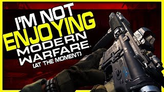 I'm Not Enjoying This So Far... | Modern Warfare Beta Day 1 Impressions