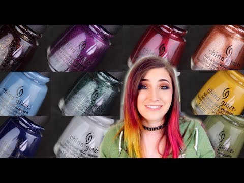 China Glaze Fall 2018 Nail Polish Collection Swatch and Review || KELLI MARISSA