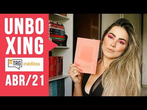 Unboxing TAG INÉDITOS | Edição ABRIL 2021
