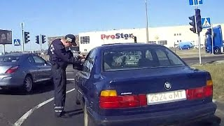 Погоня за BMW в Минске закончилась аварией
