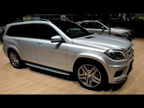 2014 Mercedes-Benz GL-Class GL500 4-Matic - Exterior and Interior Walkaround-2014 Geneva Motor Show