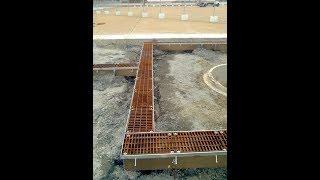 Dura Trench drain installation video