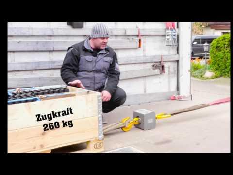 Experiment Teil 1 Rutschmatte Antirutschmatte Ladungssicherung Rutschgummi