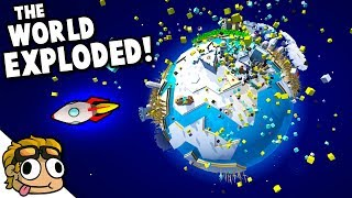 MY WORLD EXPLODED, PLZ SEND HELP! | Poly Universe Gameplay