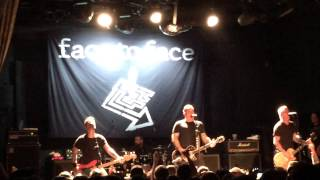 "Face to Face ""You've Done Nothing,"" ""I'm Not Afraid,"" & ""Disconnected"" @ Bowery Ballroom NYC 5/22/15"