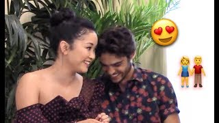 Noah Centineo Can't Stop Flirting With Lana Condor