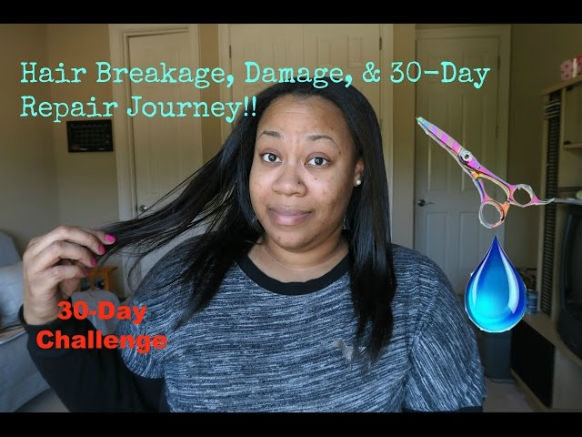 Repair Damaged Relaxed Hair Without Cutting