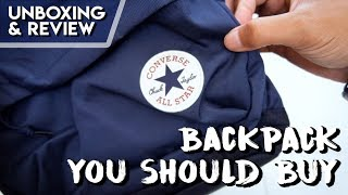 Useful Backpack From Converse [Unboxing & Review]