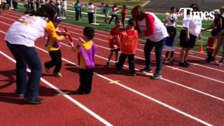 The Socorro ISD held its James Butler Spring Games for special needs students in the district Wednes